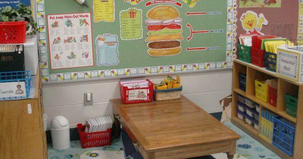 Classroom center ideas