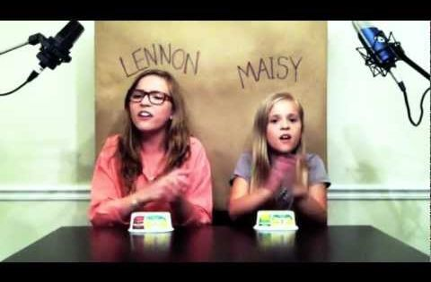 'Call Your Girlfriend' Robyn / Erato cover by Lennon & Maisy Stella