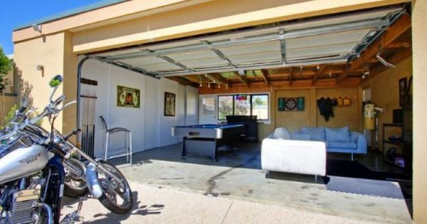 Guest Blogger Converting Your Garage Into A Game Room Garage Game Rooms Garage Room Game Room