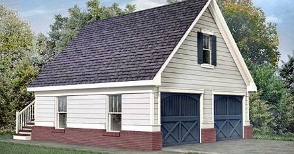 Plan 92049vs stately two car garage bonus rooms car for Two car garage plans with bonus room