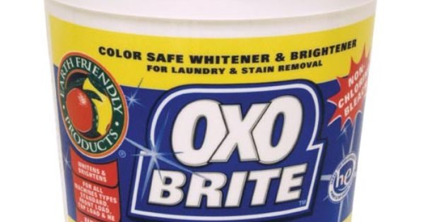 oxo brite an environmentally friendly substitute for oxiclean for making diy laundry detergent. Black Bedroom Furniture Sets. Home Design Ideas