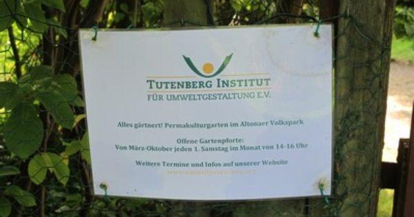 Tutenberg Institut Permakulturgarten Gartenpforte Hamburg Altona