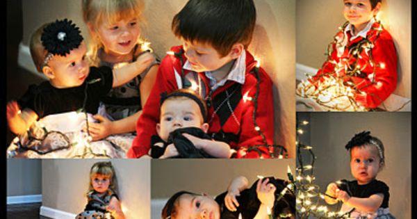 Knitting Butterflies: Christmas Lights Photo Shoot (Shoot and Edit Week 49 -