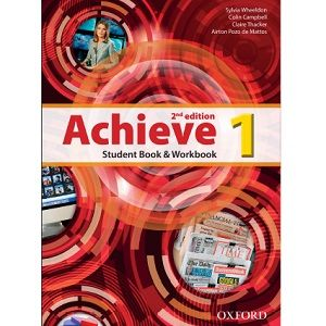 Achieve 1 Student Book Workbook 2nd Edition Livros