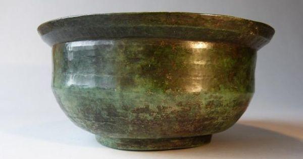 A objets d 39 art vente achat acheter antiquit s vendre bassin gallo romain en cuivre orf vrerie - Bassin en cuivre versailles ...