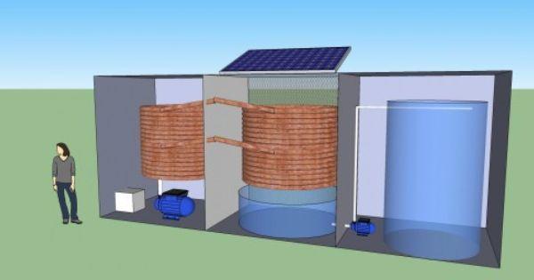 Solar Powered Atmospheric Water Generator Atmospheric Water Generator Water Generator Off Grid Communities