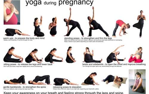 Prenatal Yoga Poses- Best prenatal workout I've done either pregnancy