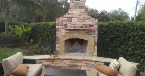 Custom Firerock Fireplace Orlando Fl Custom Fireplace Fire