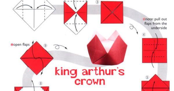 king arthur u0026 39 s crown paper hat tutorial