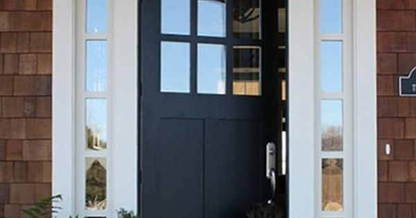 I Like The Layout Solid Front Door With Windows Either