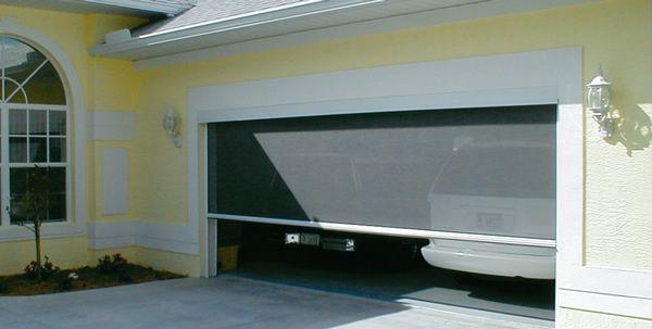 Motorized Garage Screens Power Screens Garage Screen Door Garage Doors Garage