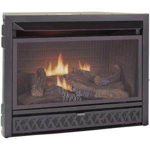Procom Gas Fireplace Insert Duel Fuel Technology 26 000 Btu