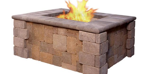 Kodiak Fire Pit Price Includes Landscape Block Detailed Plans And Firebrick All Other Required Items Are Sold Separately And Must Be Purchased At The Store