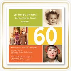 Pin De Martha Quijano En Cumple 60 Tarjetas De Cumpleaños