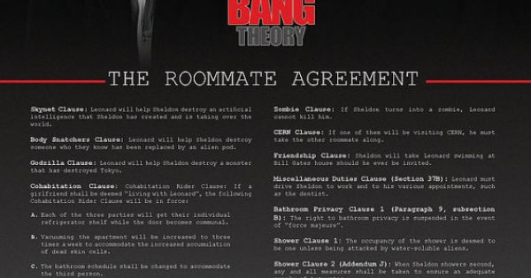 Roommate Agreement Poster So Ting This For My Dorm