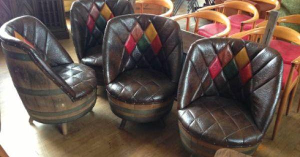 Whiskey Barrel Furniture Decorating Ideas Pinterest