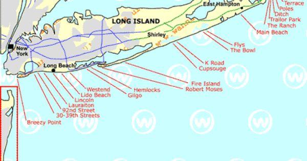 Map Of Long Island Beaches Google Search Lido Beach Island Beach Fire Island