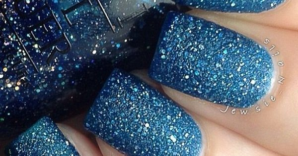 60 Glitter Nail Art Designs Silver Glitter Nails