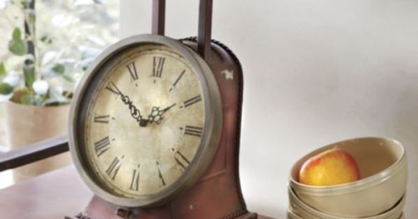 Old Fashioned Scale Clock From Through The Country Door