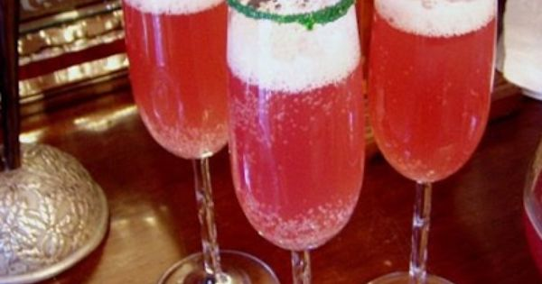 Champagne, Punch and Christmas on Pinterest