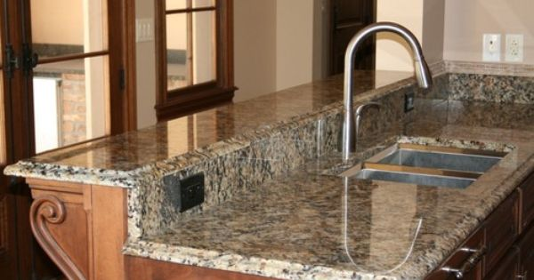 So Cool Adhesive Instant Portofinio Gold Granite Counter Top Film