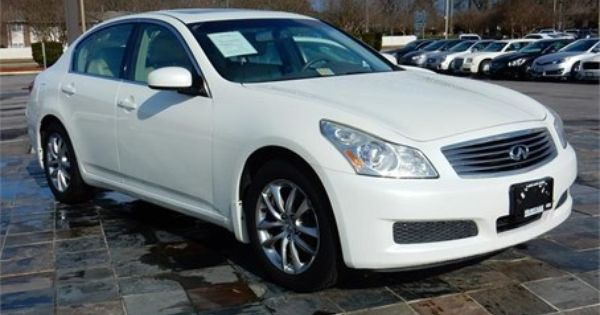 2007 Infiniti G35 Awd 78613 Miles White Exterior Color With A Tan