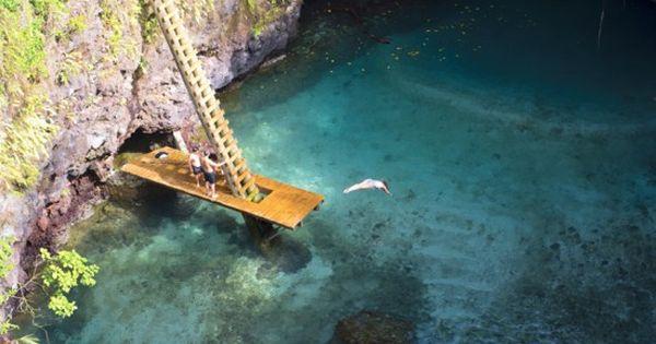 To Sua Ocean Trench, Samoa oceantrench samoa