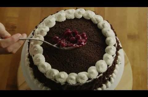 How To Make Black Forest Cake By Sanjeev Kapoor