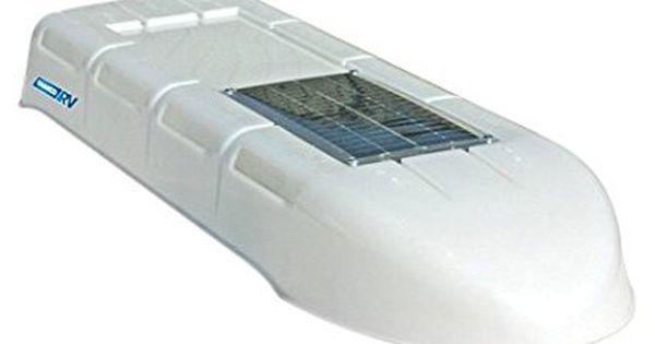 Camco 42165 Refrigerator Solar Roof Vent System Rv Solar Power Solar Roof Solar Roof Vents