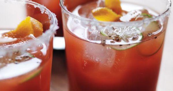 Tequila, Orange and Tomato juice on Pinterest