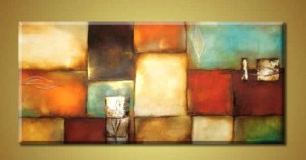 Cuadros pinturas al oleo cuadros modernos contemporaneos - Cuadros para salones minimalistas ...