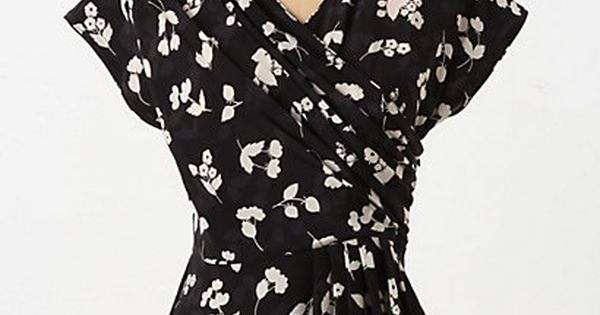 Plumeria Peplum Blouse anthropologie