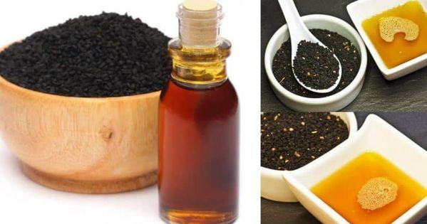 خلطة العسل وحبة البركة للجنس وعلاج مشكلات الضعف Food Honey Condiments