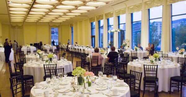 Wedding Reception At The Marcus Center For The Performing
