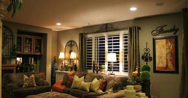 Sala cl sica decoraci n de interiores pinterest for Tuscan themed living room ideas