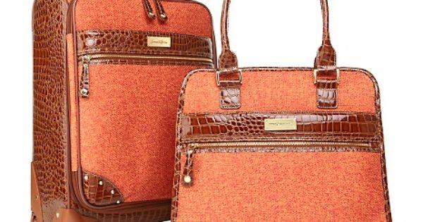 Samantha Brown Luggage Qvc: Samantha Brown 2-piece Travel Set