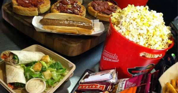 new arena concession food offered at xcel energy center in 2012