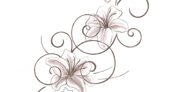 tribal tattoos for women - Bing Images. Love the flower. Maybe an