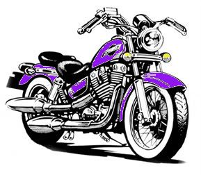 Harley Motorcycles Cartoon Biker Art Motorcycle Drawing Bike Art