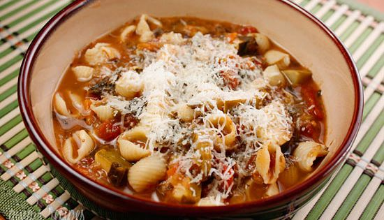 Crockpot Minestrone Soup Crock Pot Minestrone Soup Skinnytaste.com Servings: 8 • Size: