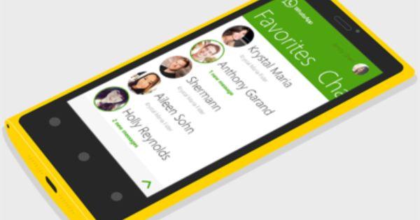 Whatsapp Windows Phone Concept Windows Phone Phone Concept