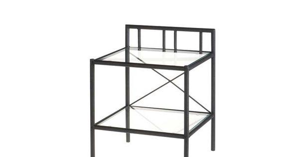 Nachttischchen Aus Metall Glasplatte Jetzt Bestellen Unter Moebelladendirektde Wohnzimmer Tische Beistelltische Uid79e6c512 Cbe6 5ac9