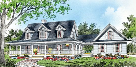 The Taylor Plan 427 Room Above Garage Pole Barn House Plans House Plans Farmhouse
