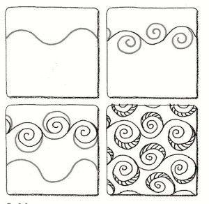 Eddy Zentangle Pattern Easy Zentangle Patterns Zentangle