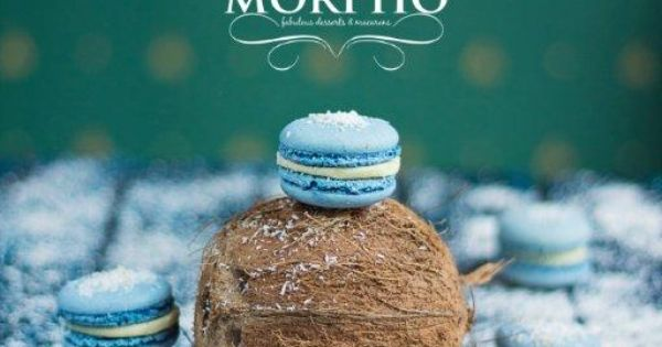 coconut macarons - Morpho Fabulous Cafe in Chisinau photo by www ...