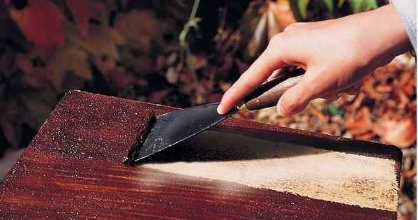 Voici un d capant naturel pour bois qui laisse une surface libre et sans odeu - Decapant bois sans odeur ...
