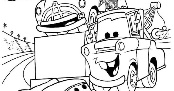 Pictures Lightning Mcqueen In Race Tournament Coloring