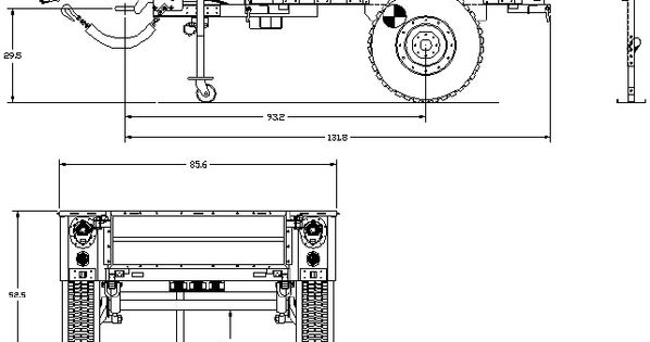 trailer scale drawings search trailers