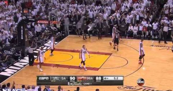 Tony Parker Clutch Shot Vs Heat 6 6 2013 2013 Nba Finals Game 1 Nba Finals Game 1 2013 Nba Finals Tony Parker