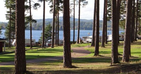 Campingplatz Leksand Strand am Silja See in Dalarna